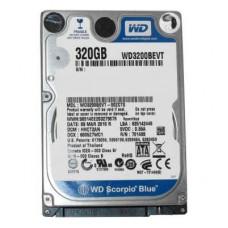 Жесткий диск Western Digital WD3200BVVT Ref. Western Digital 2.5' 320 ГБ 5400 об/мин 8 МБ SATA II HD