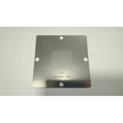 Трафарет XBOX 360CPU 0.6mm 80x80