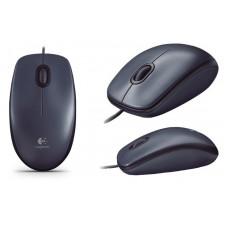 Мышь Logitech M90 DARK Logitech Оптическая Проводная Черный 2 USB 1000 dpi