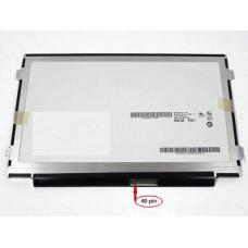 Матрица для ноутбука ChiMei  N101L6-L0D 10.1' 1024x600 LED 40 pin внизу справа SLIM Ушки по бокам Глянцевая