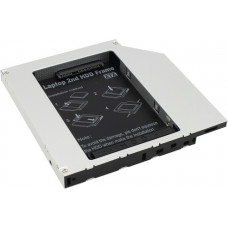 Жесткий диск Карман для 2.5 SATA HDD (h=9.5mm, Second HDD Caddy, матовый)