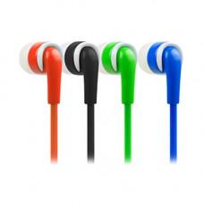 Наушники  DeTech DT-215 Blue/White  DeTech вкладыши (earphones) Проводные 20 - 20 000 Гц 16 Ом 1.2 м