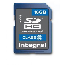 Карта памяти Integral SDHC 16 ГБ Class10 20Mb/s (Ultima Pro 16) SDHC Integral 16 ГБ Class 10