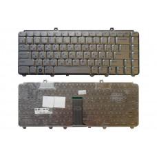 Клавиатура для ноутбука  Dell 1420, 1500, 1520 (PV8XK) Русская Серый Без подсветки С фреймом