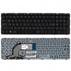 Клавиатура для ноутбука  HP 720670 (Pavilion: 17-e series) Русская Черный Без подсветки Без фрейма H