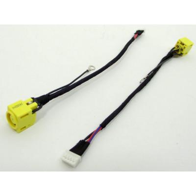 Разъем питания для ноутбука Lenovo PJ426 с кабелем (7.8*5.5 + Central pin)