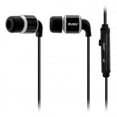Гарнитура SVEN SEB 26 BK  Sven вкладыши (earphones) Проводные 18 Гц – 22 кГц 32 Ом 1.2 м