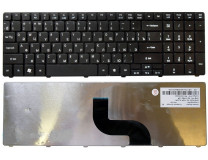 Клавиатура для ноутбука  ACER Aspire 5810T, 5536, 5236 (V104702AS3 MB358-001) Русская Черный Без под