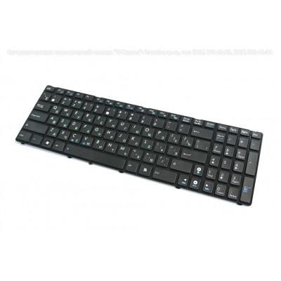 Клавиатура для ноутбука  ASUS A52, K52, X52, K53, A53 (04GNV32KRU00-6 0KM-MF1US13) Русская Черный Бе