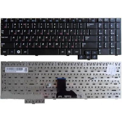 Клавиатура для ноутбука  Samsung E352, E452, P580, R519, R523, R525, R530 (R538, R540, R620, R719, R528) Русская Черный Без подсветки С фреймом Samsun