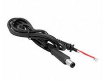 DC кабель питания для ноутбука HP (7.4*5.0) 2 провода 7.4*5.0+PIN