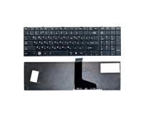 Клавиатура для ноутбука  Toshiba C850, C855, C870, C875, L850, L855, L870 Русская Черный Без подсвет