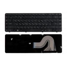 Клавиатура для ноутбука  HP 595199 ((Presario CQ56, CQ62, G56, G62) Русская Черный Без подсветки Без