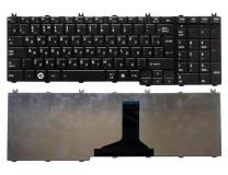 Клавиатура для ноутбука  Toshiba C650, C655, L650 (9Z.N4WGV.00R) Русская Черный Без подсветки Без фр