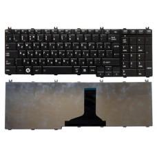 Клавиатура для ноутбука  Toshiba C650, C655, L650 (L655, L655D, L670, L670D, L675, L675D, L750, L750D) Русская Черный