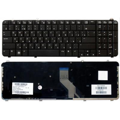 Клавиатура для ноутбука  HP 518965 (Pavilion dv6-1000, dv6-2000, dv6t-1000, dv6t-2300) Русская Черны