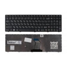 Клавиатура для ноутбука  Lenovo IdeaPad Y570, Y770 Черный Без подсветки С фреймом Lenovo