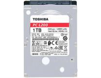 Жесткий диск Toshiba L200 (HDWL110) Toshiba 2.5' 1 ТБ 5400 об/мин 128 Мб SATA III HDD