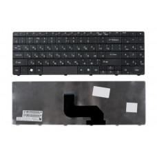 Клавиатура для ноутбука  ACER NV52, NV56, NV59 (DT85, LJ61, LJ65, LJ67) Русская Черный Без подсветки С фреймом ACER