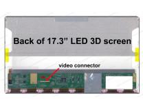 Матрица для ноутбука Samsung 173LDQN40BL (LTN173HT02-P01) Без креплений Samsung 17.3' 1920x1080 LED