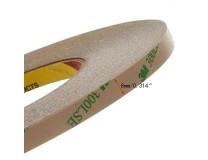 Скотч 3M двухсторонний прозрачный 0.8cm  (9495LE300LSE) 8 мм 55 м