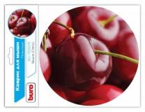 Коврик для мыши BURO BU-T60029 (Buro BU-T60029 рисунок/вишня) BURO ткань + резиновая основа 200 х 20
