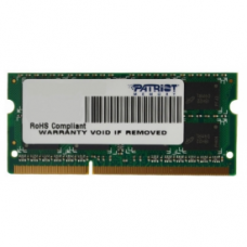Модуль памяти  Patriot PC3-12800 (PSD34G16002S) Patriot SODIMM DDR3 4 ГБ 1600 МГц Для ноутбука 1