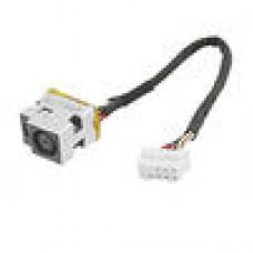 Разъем питания HP  Разъем питания с кабелем (PJ075-1.65mm) (Б/У) HP