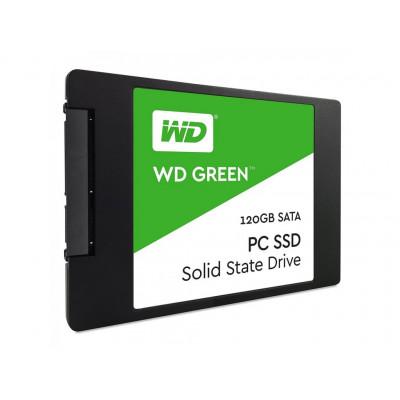 Жесткий диск Western Digital WDS120G2G0A Western Digital 2.5' 120 ГБ 450/550мб/с TLC SATA III SSD