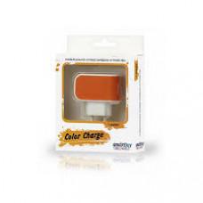 Зарядное устройство SmartBuy SBP-8050 (SmartBuy COLOR CHARGE SBP-8050) SmartBuy сетевое 1А Оранжевый