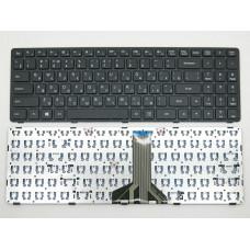 Клавиатура для ноутбука  Lenovo IdeaPad 100-15IBD Русская Черный Без подсветки С фреймом Lenovo