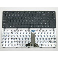 Клавиатура для ноутбука  Lenovo Ideapad 100-15IBD, 100-15IBY, 300-15 (B50-80, B50-50) Русская Черный Без подсветки С фреймом Lenovo