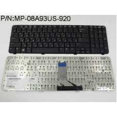 Клавиатура для ноутбука  HP 517865 (Compaq CQ61, G61) Русская Черный Без подсветки С фреймом HP