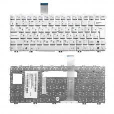 Клавиатура для ноутбука  ASUS EeePC: 1011, 1015, 1016, 1018 series (04GOA292KRU00) Русская Белый Без