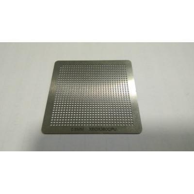 Трафарет XBOX360CPU 0.6mm 35x35