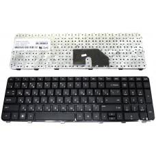 Клавиатура для ноутбука  HP 640436 (dv6-6000, dv6-6b, dv6-6c) Русская Черный Без подсветки С фреймом