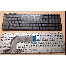 Клавиатура для ноутбука  HP 720670 (Pavilion: 17-e series) Русская Черный Без подсветки С фреймом HP