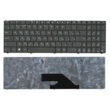 Клавиатура для ноутбука  ASUS A75, A75A, A75D, A75DE, K75, K75A (K75D, K75V, K75VJ, K75WM, K75DE, K75DR) Русская Черный Без подсветки С фреймом