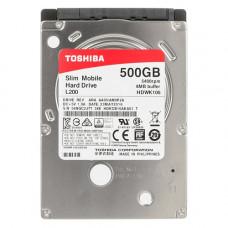 Жесткий диск Toshiba HDWK105UZSVA (Mobile L200 500GB 5400rpm) Toshiba 2.5' 500 ГБ 5400 об/мин 8 МБ S