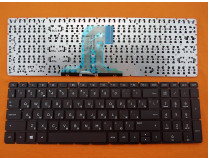 Клавиатура для ноутбука  HP 250 G4, 255 G4, 15-AC, 250 G5, 255 G5 (15-AF, 15-AY, 15-BA) Русская Черный Без фрейма