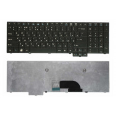 Клавиатура для ноутбука  ACER TravelMate 5760, 5360 Русская Черный Без подсветки С фреймом ACER