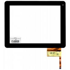 Тачскрин 300-L3456B-A00-VER1.0 для китайских планшетов 9.7' дюймов 236x183 mm 12 pin Чёрный