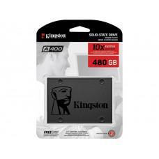 Жесткий диск Kingston A400 Series (SA400S37/480G) 2.5' 480 ГБ 450/500мб/с TLC SATA III SSD