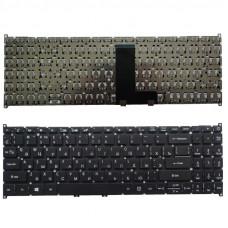 Клавиатура для ноутбука  ACER Aspire 3 A315-54 A315-54K (A315-55 A315-55G A515-52) Русская Черный Без подсветки Без фрейма