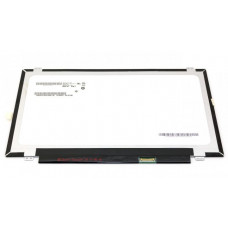 Матрица для ноутбука AU Optronics B140RTN03.0 14.0' 1600x900 LED 30pin eDP внизу справа SLIM Вертикальные ушки Глянцевая