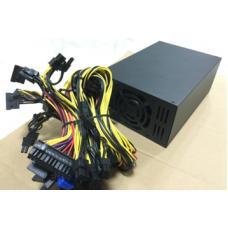 Блок питания для майнинга SURMA LW2000PG 2000W 1*24-pin, 16*6+2-pin, 2*4-pin, 13*SATA, 2*Molex