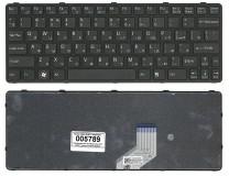 Клавиатура для ноутбука  Sony 149240561 (E11, SVE11) Русская Черный Без подсветки С фреймом SONY