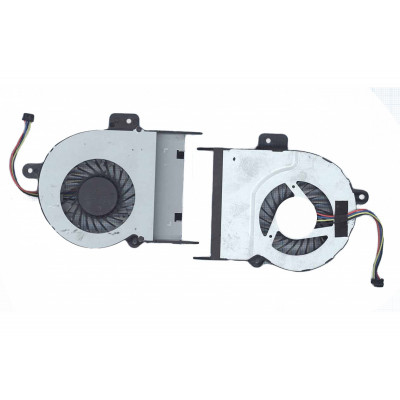 Кулер для ноутбука ASUS K55A, K55C, X55A, X55C, K55X (MF60090V1-C480-S99, 9мм) (Б/У)