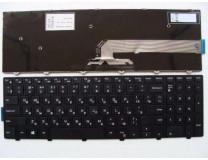 Клавиатура для ноутбука  Dell Inspiron 3541, 3542, 3543, 5542, 5545 (Vostro 3546, 3549, 3558, 3559, Latitude 3540, 3550) Русская Черный