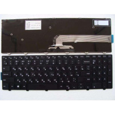Клавиатура для ноутбука  Dell Inspiron 3541, 3542, 3543, 5542, 5545 (0HHC8) Русская Черный Без подсв